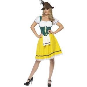 Costume femme Oktoberfest sexy