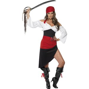 Costume femme piratine Sassy