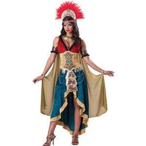 Costume femme reine maya
