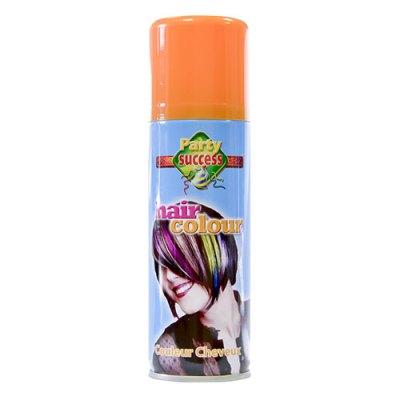 Laque cheveux orange