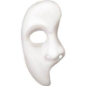 Loup phantom demi masque