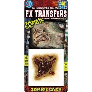 Balafre de zombie Transfert 3D