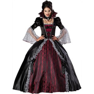 Costume femme vampiresse de Versailles