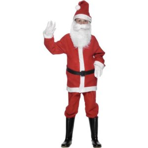 Costume enfant petit Père Noël