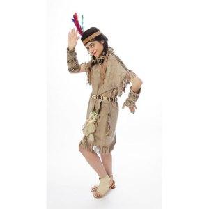 costume-prestige-femme-indienne-plume