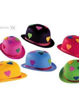 chapeau-melon-multicolore