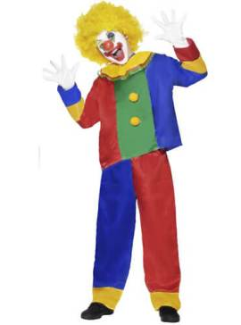 costume-clown-enfant-multicolore