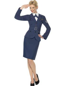 deguisement-femme-air-force-seconde-guerre-mondiale