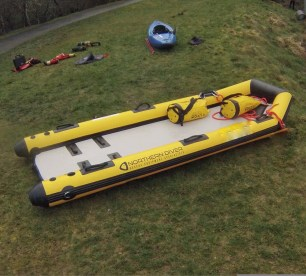 water safety raft - bankside - location safety ltd - Film, TV and Media Safety Specialists