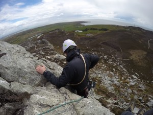 AG6 - rigging - snowdonia - location safety ltd - Film, TV and Media Safety Specialists