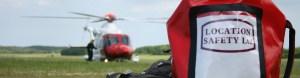 coastgaurd helicopter LS bag - location safety ltd - Film, TV and Media Safety Specialists
