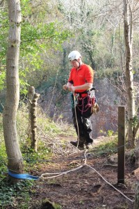 rigging cliff edge quarry 3 - location safety ltd - Film, TV and Media Safety Specialists