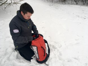 Alex George - winter - 3 - snow - mountain safety - filming - film, tv and media safety specialists - Location Safety ltd
