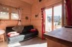 Pièce à vivre appartement Saint Gervais