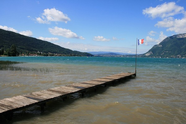 downwind session sup lac annecy