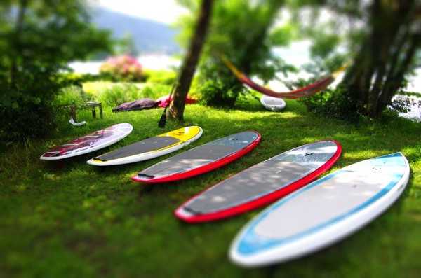 stand up paddle NCY SUP lac d'Annecy