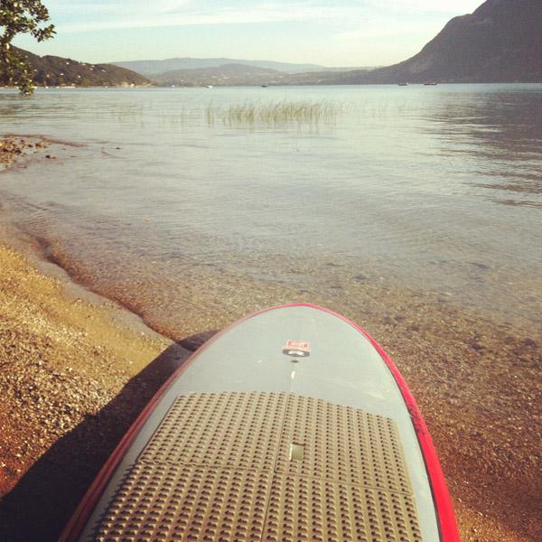 activités en stand up paddle à Annecy