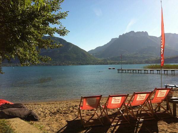 conditions top pour le stand up paddle sur le lac !