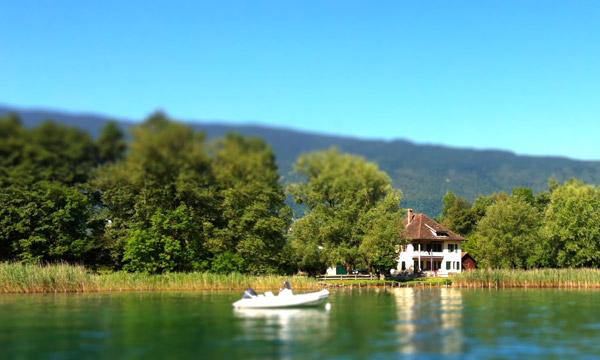 location maison lac d'annecy à la semaine