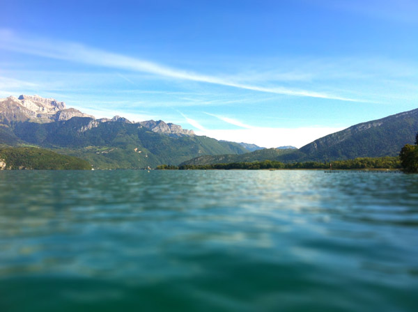rando stand up paddle roc de chère annecy