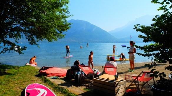 un petit paradis sur les rives du lac d'Annecy