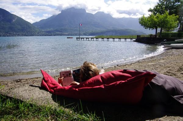 beau temps dimanche lac annecy