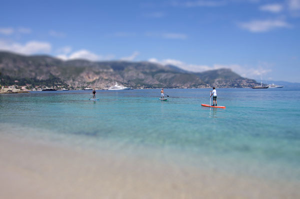 test stand up paddle st Jean Cap Ferrat