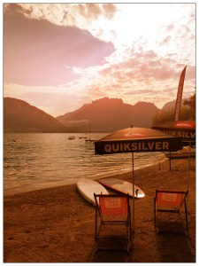 Location paddle lac d'Annecy