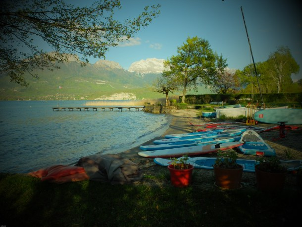 ouverture saison 2016 stand up paddle annecy