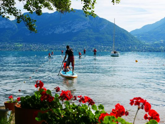 stand up paddle annecy