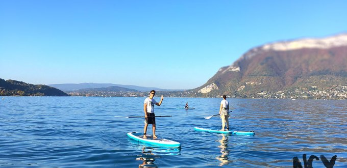 paddle toussaint lac annecy