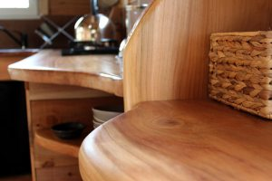 aménagement bois tiny house