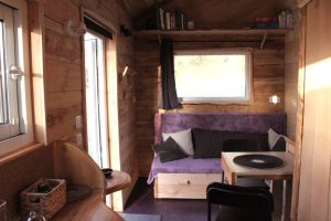 banquette convertible tiny house