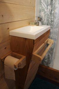 salle de douche tiny house