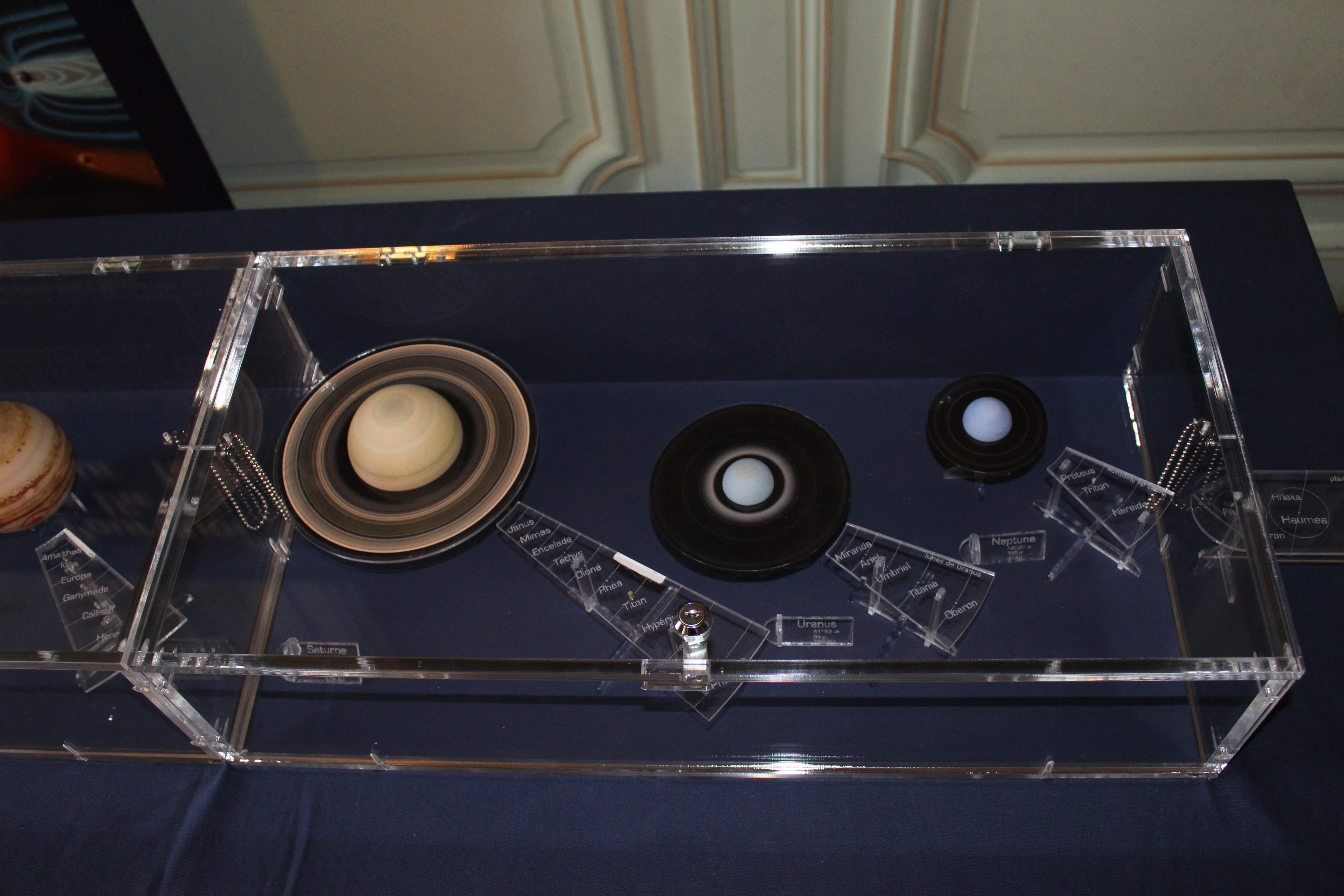 MAquette 3D Système Solaire