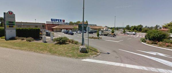 Location voiture Super U Laiz
