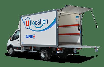 Location camion Super U