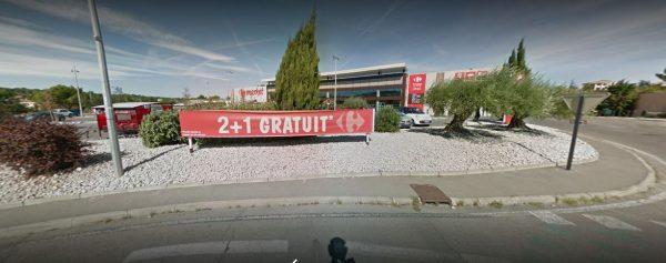 Location véhicules Carrefour Villeneuve-lès-Avignon
