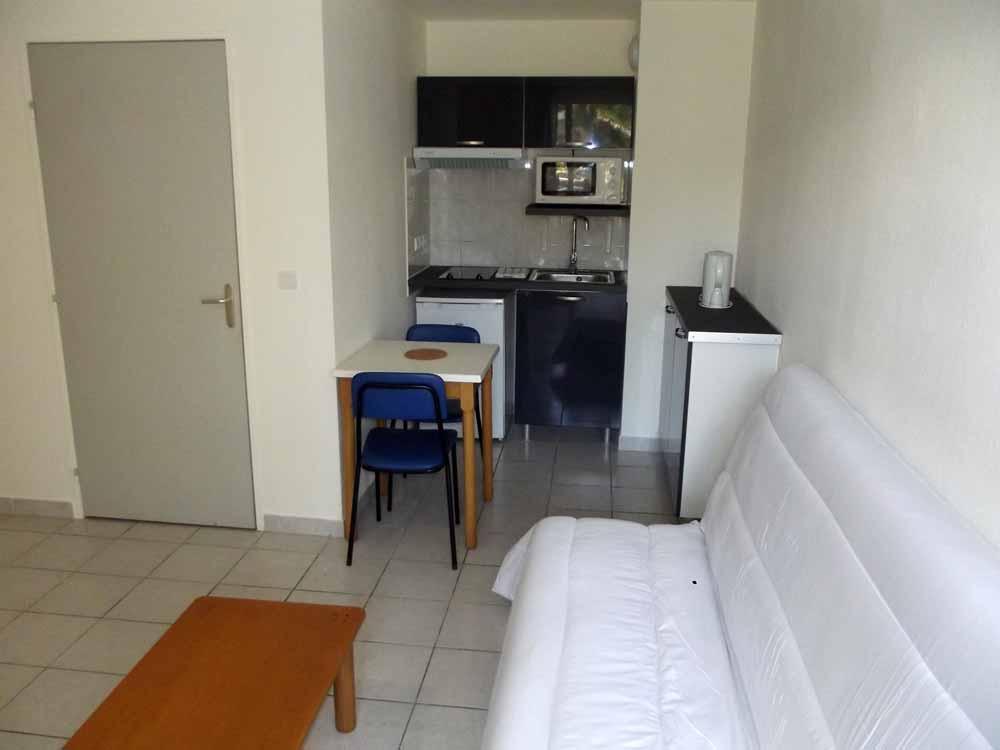 Location Meublee Grand Studio Avignon 28m Terrasse 480