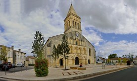 Eglise Saint-Eutrope de Jonzac