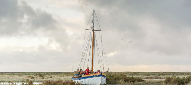 The long-lost port at Cley-next-the-Sea opens again for business