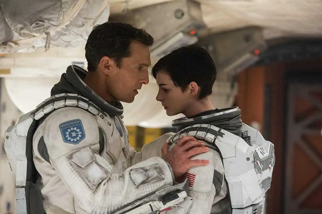 Matthew McConaughey e Anne Hathaway in Interstellar (2014)