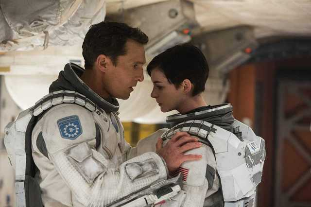 Matthew McConaughey e Anne Hathaway in Interstellar (2014)