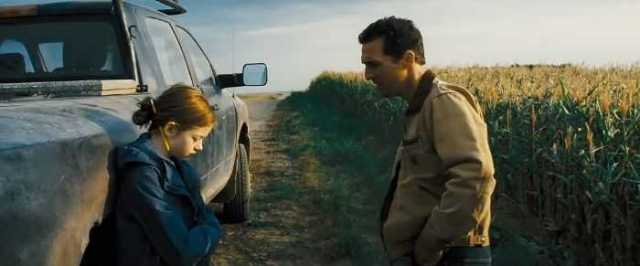 Matthew McConaughey e Mackenzie Foy in Interstellar (2014)