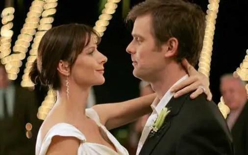 Nate e Brena al matrimonio - Six Feet Under 5