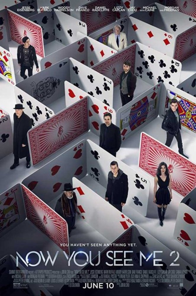 Now You See Me 2 I maghi del crimine locandina