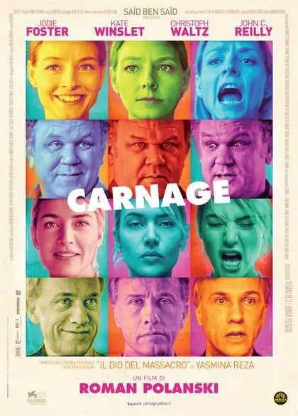 Carnage locandina film