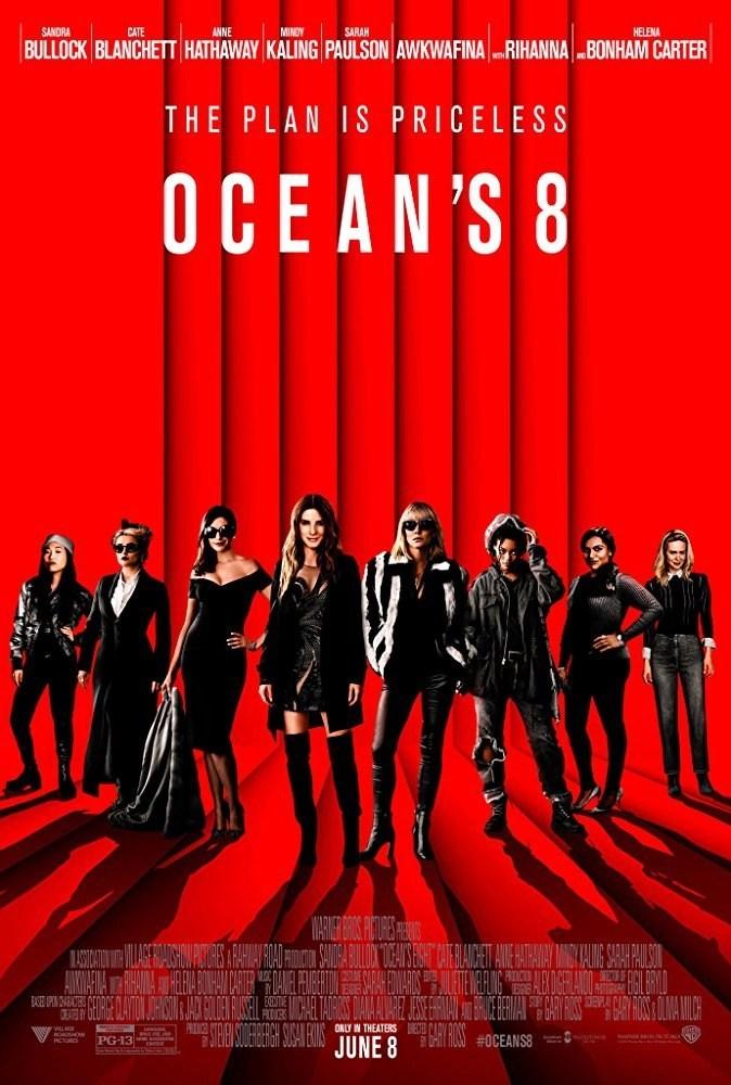 Ocean's 8:un colpo tutto femminile.