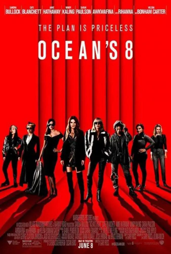 locandina movie ocean's 8