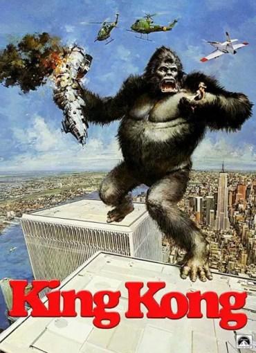 locandina king kong